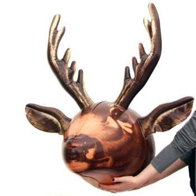 inflatable deer head