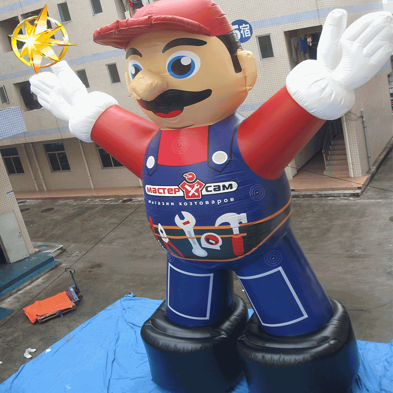 inflatable mario