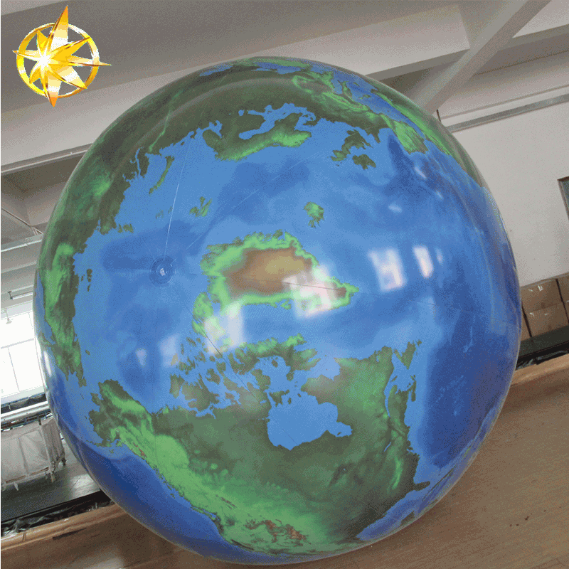 2018 Inflatable giant Planet Earth globe ball