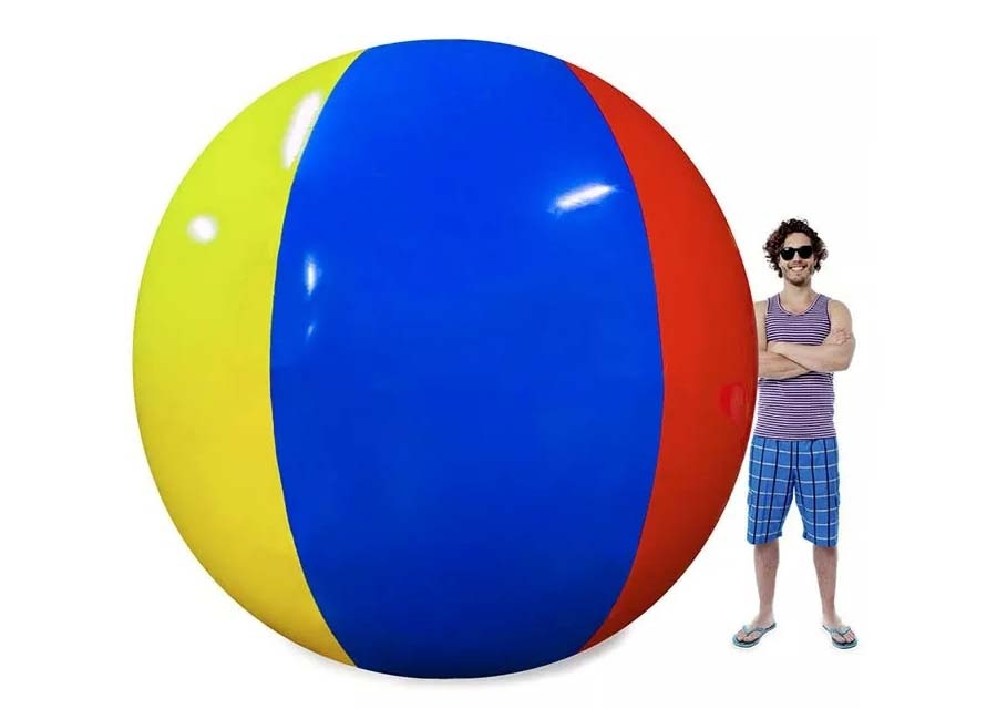 2019 The worst comment: This beach ball turned the beach into a disaster scene