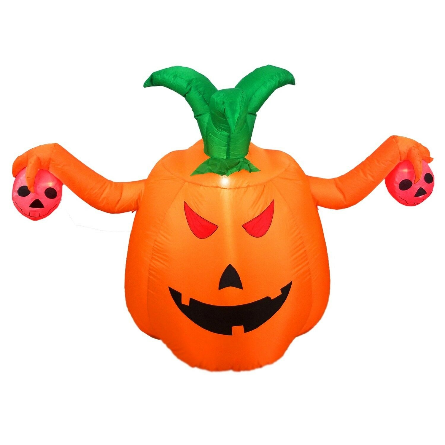 5 Foot Halloween Inflatable Pumpkin Halloween Decorations