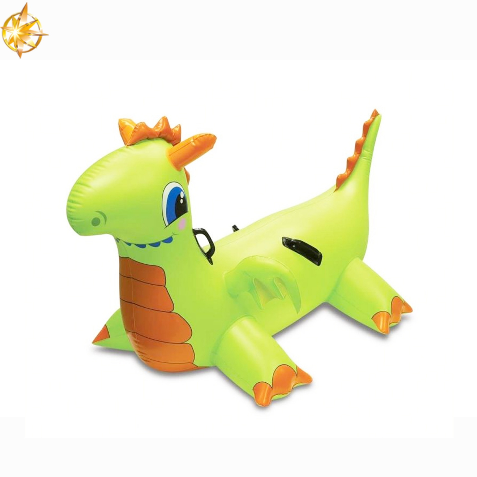 PVC Inflatable Water Play Cute Cartoon Dinosaur Inflatable Pool Float Kids Swimming Toys