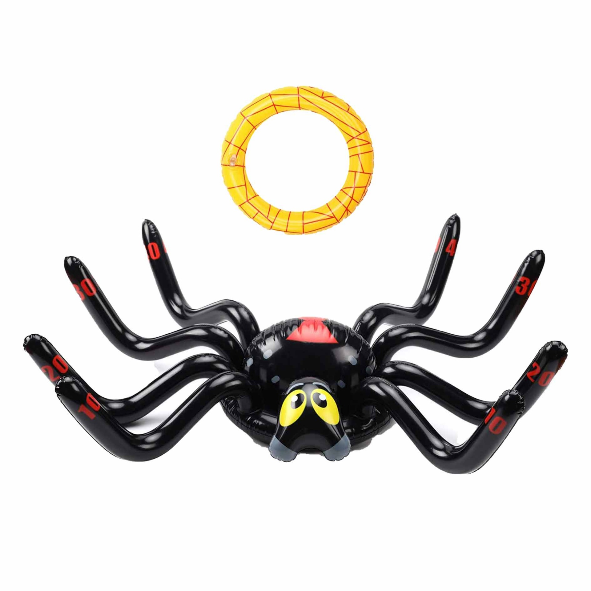 Custom inflatable Spider Ring Toss Game Inflate for Birthday Party & Halloween - Inflatable Toy