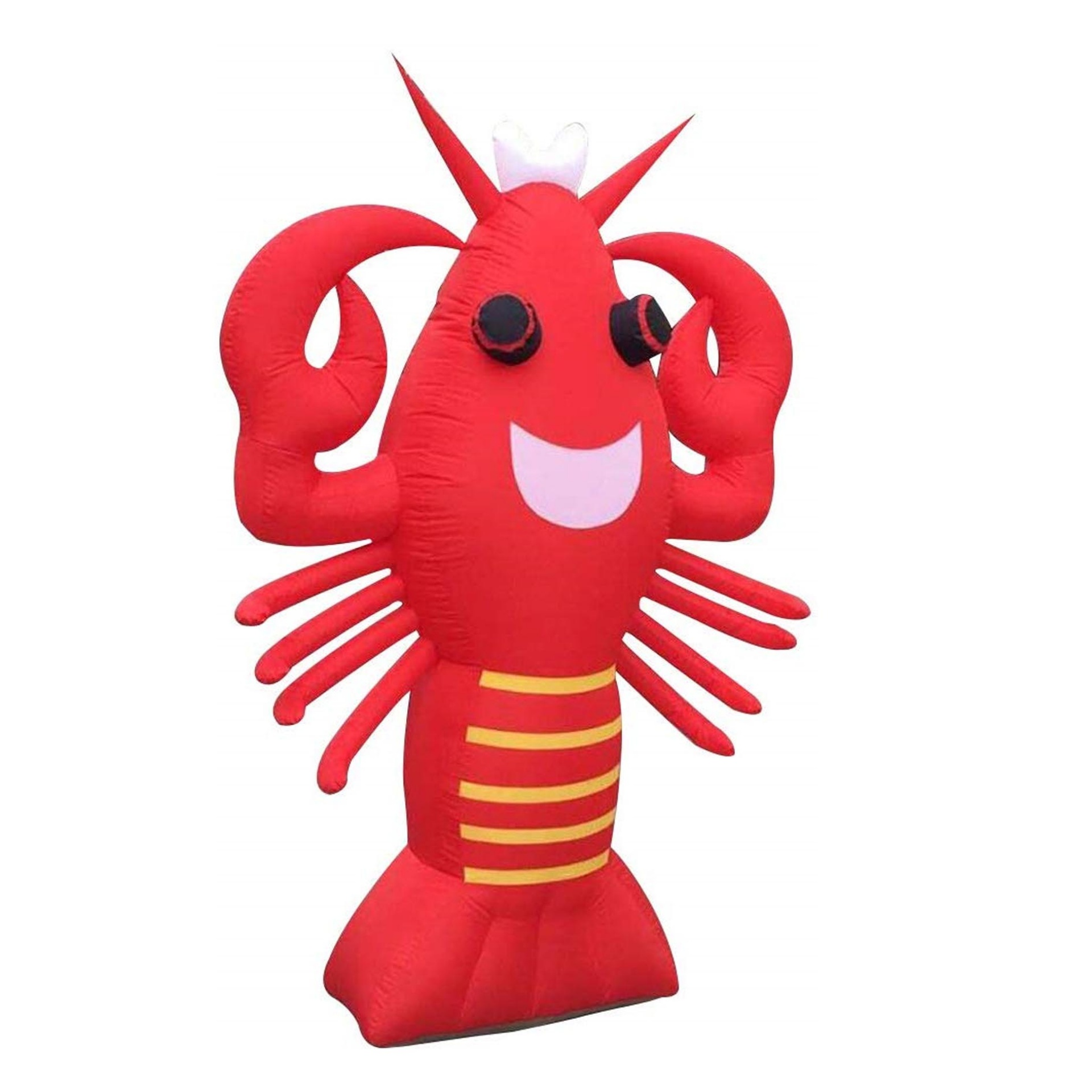 Inflatable Lobster Advertising Display Giant Attractive Restaurant Decoration