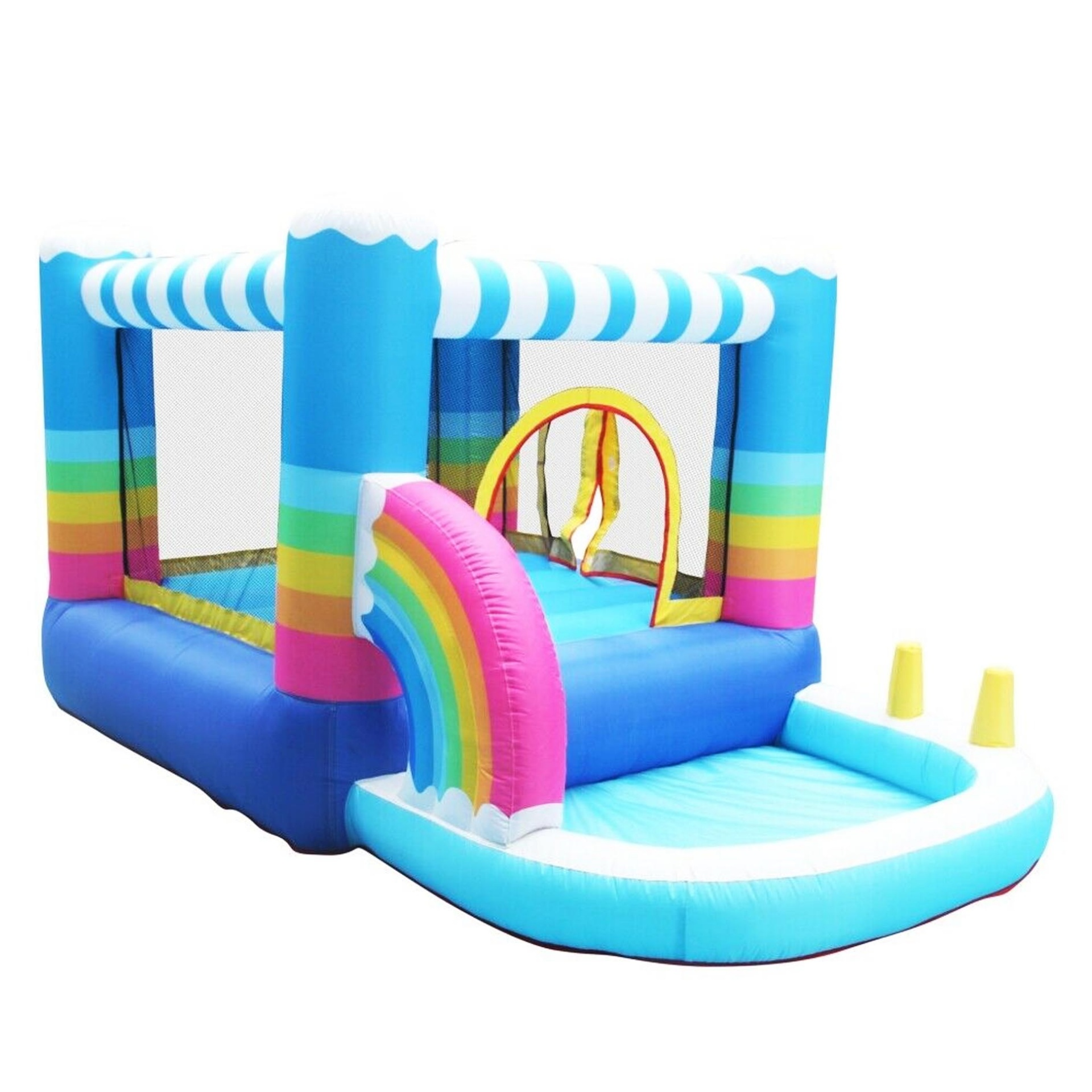 Custom indoor/outdoor inflatable bounce house children's playground