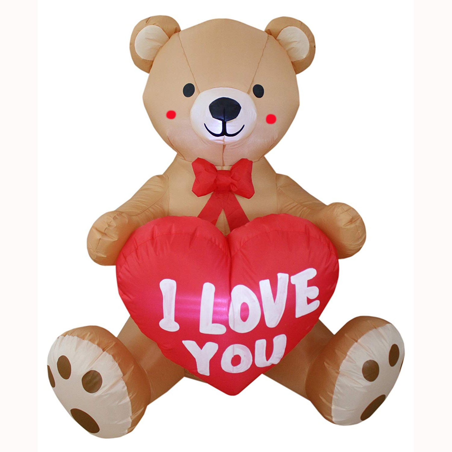 Inflatable LOVE bears decorating outdoors/indoors for valentine's day